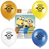 8 Pack Despicable Me 2 Latex Balloon