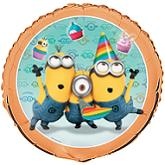 "18"" Despicable Me 2 Balloons (Sold Packaged)"