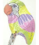6&#39&#39 Colourful Parrot M180