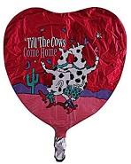 "18"" Till The Cows Come Home Balloon"