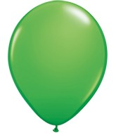 "5"" Spring Green 100 Count Qualatex Plain Latex"