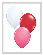 "11""  Qualatex Latex Balloons  LOVE ASSORT       100CT"