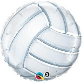 "18"" Volleyball Mylar Balloon"