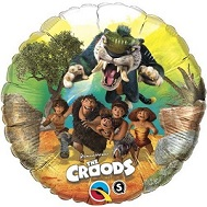 "18"" The Croods Licensed Mylar Balloon Packaged"
