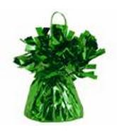 6OZ Green Foil Wrapped Balloon Weight