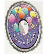 25&#39&#39 Numeral 0 Birthday Balloon