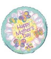 "18"" Happy Mother&#39s Day Butterflies/Flower"