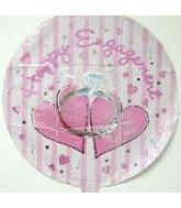 "18"" Happy Engagement Mylar Balloon"