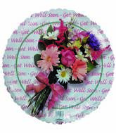 "18"" Get Well Flower Bouquet"