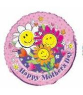 "18"" Happy Mother&#39s Day Smiley Flowers"