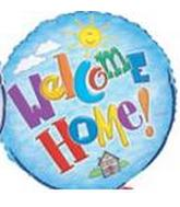 "18"" Welcome Home Sun Balloon"