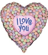 "18"" Candy Heart Balloon"