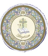 "18"" Baptism Unique Mylar Balloon"
