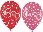 "11"" Happy Together Latex Balloons (Assorted Colors)"