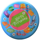 "18"" Shopping Spree Birthday Foil Balloon"