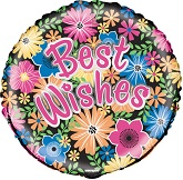 "18"" Best Wishes Bloom Balloon"