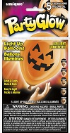 "10"" Pumpkin Faces Light Up Airfill Balloons 1-Sided 5Ct"
