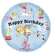 "18"" Circus Birthday Balloon"
