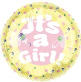 "18"" It&#39s A Girl Balloon"