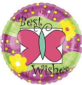 "18"" Best Wishes Balloon"