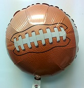 "18"" Football Foil Balloon"