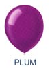 "5"" Plum Latex Balloons (144 Per Bag)"