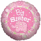 "18"" Big Sister Balloon"