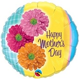 "18"" Mother&#39s Day Zinnas Flowers Balloon"