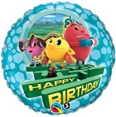 "18"" Pac-Man Happy Birthday Balloon"
