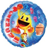 "18"" Pac-Man Power Up Balloon"