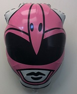 "25""  Pink Power Rangers Head Shape"