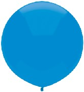 "17"" Outdoor Display Balloons (72 Count) Bright Blue"