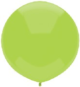 "17"" Outdoor Display Balloons (72 Count) Kiwi Lime"