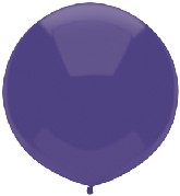 "17"" Outdoor Display Balloons (72 Count) Regal Purple"