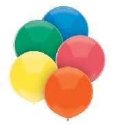 "17"" Outdoor Display Balloons (72 Count) Primary Assortment"