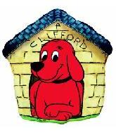 "26"" Clifford Dog House"