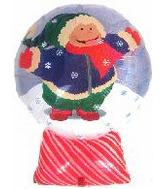 "26""Snow Globe Kid Holographic (B14)"
