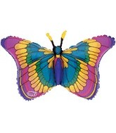 "36"" Flitters Colorful Butterfly B210"