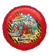 "18"" Little Workers Party Red Foil Balloon"