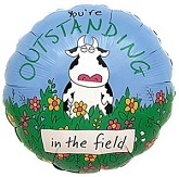 "18"" You&#39re Outstanding in the Field"