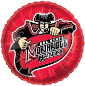 "18"" Collegiate Football Cal State Northridge Matadors"