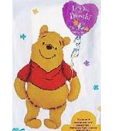 "30"" Love You A Bunch Pooh Large Balloon"