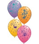 "11"" Assorted Latex Balloons Pooh Characters"