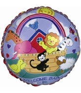 "18"" Noah&#39s Ark Welcome Baby"
