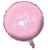 "18"" Pink Baby Shower Balloon"