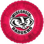 "18"" Collegiate Football University Of Wisconsin - Badgers"