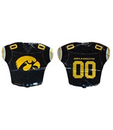 "18"" Iowa Hawkeyes Jersey Football Balloon"