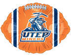 "18"" Collegiate Football University Of Texas, El Paso"
