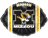 "18"" Collegiate Football Missouri UM Mizzou Tigers"