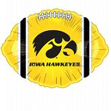 "18"" Collegiate Football University Of Iowa"